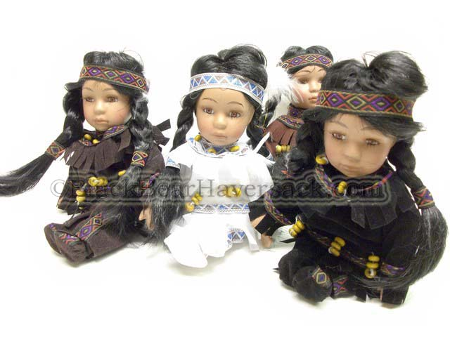 Porcelain Indian Dolls