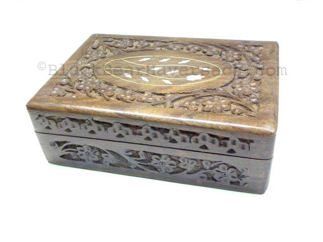 Wooden Box Jewelry Boxes