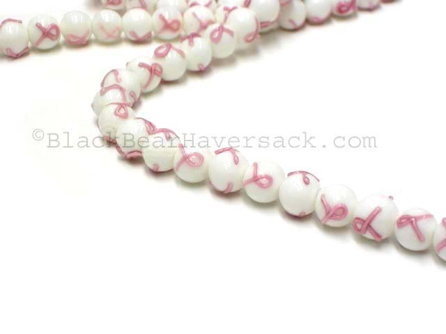 Breast Cancer Awareness Beads