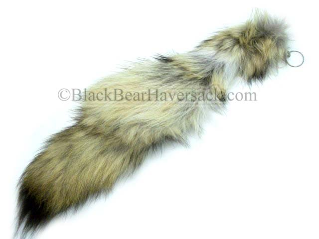 Fox Tail Keychain