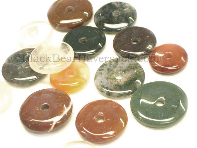Stone Donut Pendant