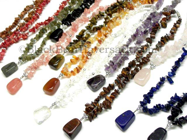 crcntour elasticated black products chip product tourmaline crystal necklace