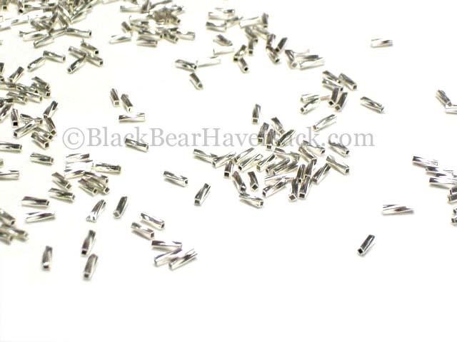 Heishi Silver Beads