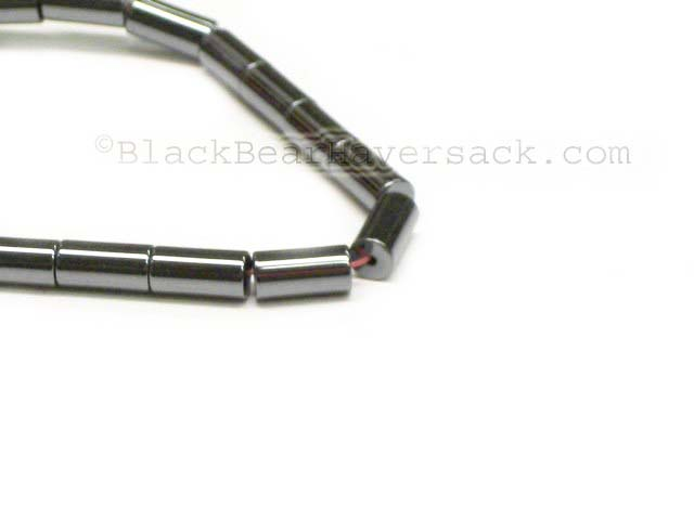 Tube Magnetic Hematite Beads