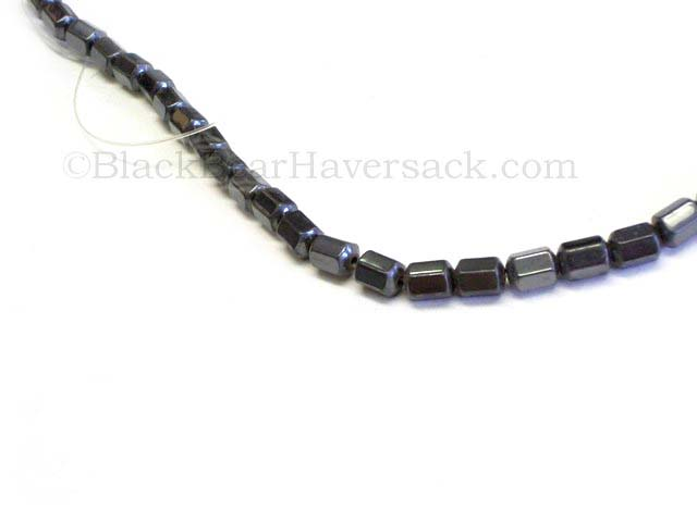 Faceted Hematite Beads
