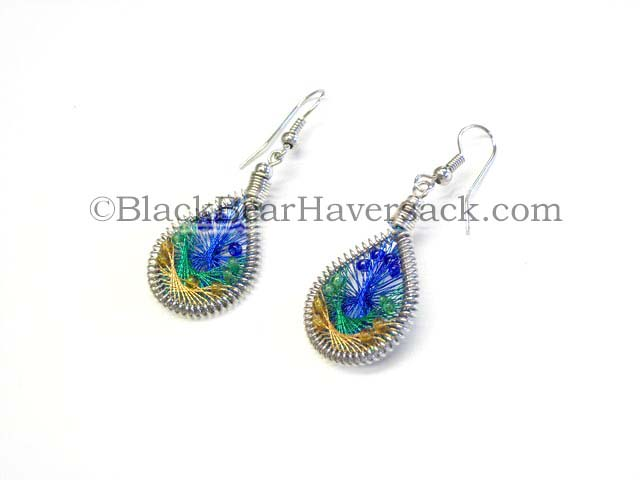 Thread Woven Earrings